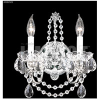 James R. Moder 40282S22 Regalia Collection 2 Light Silver Wall Sconce Wall Light