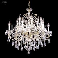 James R. Moder 40290G11 Regalia Collection 12 Light 28 inch Gold Chandelier Ceiling Light