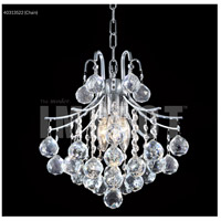 James R. Moder 40313S22 Cascade 3 Light 12 inch Silver Dual Mount Ceiling Light Convertible to Pendant