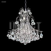 James R. Moder 40316S00 Cascade 11 Light 22 inch Silver Chandelier Ceiling Light