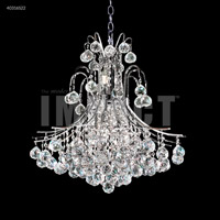 James R. Moder 40316S22 Cascade 11 Light 22 inch Silver Chandelier Ceiling Light