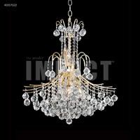 James R. Moder 40317G22 Cascade 11 Light 25 inch Gold Crystal Chandelier Ceiling Light