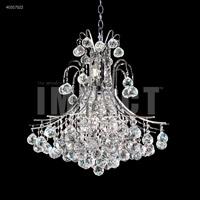 James R. Moder 40317S22 Cascade 11 Light 25 inch Silver Crystal Chandelier Ceiling Light