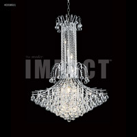 James R. Moder 40318S11 Cascade 14 Light 36 inch Silver Entry Chandelier Ceiling Light