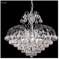 James R. Moder 40327S00 Cascade 7 Light 20 inch Silver Crystal Chandelier Ceiling Light