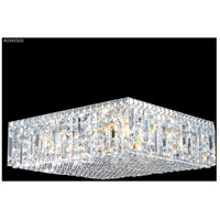 Contemporary 12 Light 20 inch Silver Flush Mount Ceiling Light