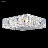 James R. Moder 40345S11 Contemporary 12 Light 20 inch Silver Flush Mount Ceiling Light