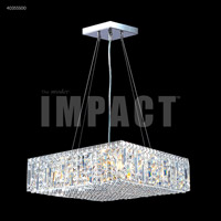 James R. Moder 40355S00 Contemporary 12 Light 20 inch Silver Mini Chandelier Ceiling Light