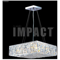 James R. Moder 40355S22 Contemporary 12 Light 20 inch Silver Mini Chandelier Ceiling Light