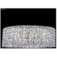 James R. Moder 40386S11 Contemporary 12 Light 20 inch Silver Flush Mount Ceiling Light