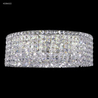 James R. Moder 40386S22 Contemporary 12 Light 20 inch Silver Flush Mount Ceiling Light