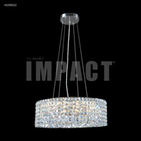 James R. Moder 40398S22 Contemporary Collection 20 Light 24 inch Silver Chandelier Ceiling Light
