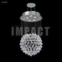 James R. Moder 40421S22 Spring Rain 5 Light 18 inch Silver Mini Chandelier Ceiling Light