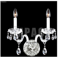 Silver Crystal Palace Ice Wall Sconces
