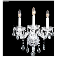 James R. Moder 40463S00 Palace Ice 3 Light Silver Wall Sconce Wall Light