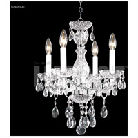 James R. Moder 40464S00 Palace Ice Collection 4 Light 16 inch Silver Chandelier Ceiling Light