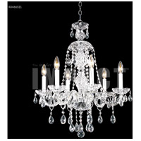 James R. Moder 40466S11 Palace Ice 6 Light 24 inch Silver Chandelier Ceiling Light