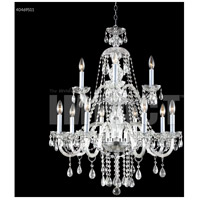 James R. Moder 40469S11 Palace Ice 12 Light 28 inch Silver Chandelier Ceiling Light