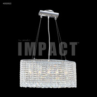 James R. Moder 40520S22 Contemporary 5 Light 9 inch Silver Crystal Chandelier Ceiling Light