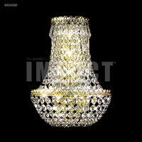 James R. Moder 40531G00 Imperial 3 Light Gold Wall Sconce Wall Light Impact