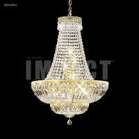James R. Moder 40544G11 Imperial 11 Light 24 inch Gold Chandelier Ceiling Light Impact