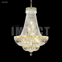 James R. Moder 40544S22 Imperial 11 Light 24 inch Silver Chandelier Ceiling Light Impact