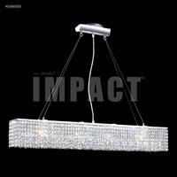 James R. Moder 40586S00 Contemporary 4 Light 5 inch Silver Mini Chandelier Ceiling Light