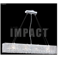 James R. Moder 40586S22 Contemporary 4 Light 5 inch Silver Mini Chandelier Ceiling Light