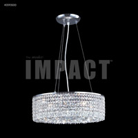 James R. Moder 40593S00 Contemporary 6 Light 17 inch Silver Mini Chandelier Ceiling Light