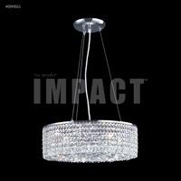James R. Moder 40593S11 Contemporary 6 Light 17 inch Silver Mini Chandelier Ceiling Light