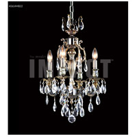 James R. Moder 40614MB22 Brindisi 4 Light 14 inch Monaco Bronze Crystal Chandelier Ceiling Light
