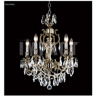 James R. Moder 40615S2GT Brindisi 5 Light 20 inch Silver Mini Chandelier Ceiling Light