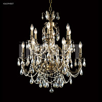 James R. Moder 40619MB0T Brindisi Collection 12 Light 28 inch Monaco Bronze Chandelier Ceiling Light
