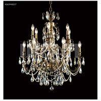 James R. Moder 40619MB00 Brindisi Collection 12 Light 28 inch Monaco Bronze Chandelier Ceiling Light