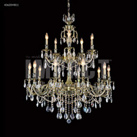 James R. Moder 40620MB11 Brindisi Collection 15 Light 36 inch Monaco Bronze Chandelier Ceiling Light