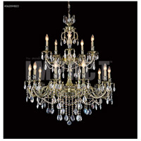 Brindisi 15 Light 36 inch Monaco Bronze Chandelier Ceiling Light