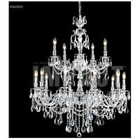 James R. Moder 40620S00 Brindisi 15 Light 36 inch Silver Crystal Chandelier Ceiling Light