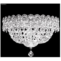 James R. Moder 40633S11 Imperial Collection 3 Light 12 inch Silver Flush Mount Ceiling Light Impact