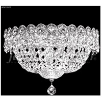 James R. Moder 40633S22 Imperial Collection 3 Light 12 inch Silver Flush Mount Ceiling Light Impact