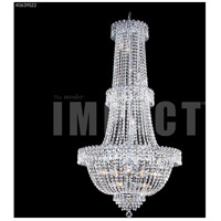 James R. Moder 40639S22 Imperial Collection 20 Light 28 inch Silver Entry Chandelier Ceiling Light Impact