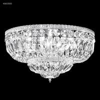James R. Moder 40653S00 Flush Mount Collection 8 Light 18 inch Silver Flush Mount Ceiling Light