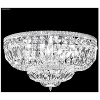 James R. Moder 40653S11 Flush Mount Collection 8 Light 18 inch Silver Flush Mount Ceiling Light