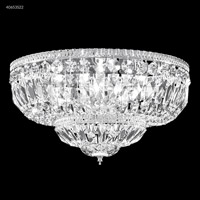 Gallery 8 Light 18 inch Silver Flush Mount Ceiling Light
