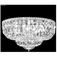 Gallery 8 Light 25 inch Silver Flush Mount Ceiling Light