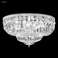 James R. Moder 40654S11 Flush Mount Collection 8 Light 25 inch Silver Flush Mount Ceiling Light