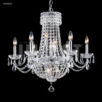 James R. Moder 40660S22 Imperial 12 Light 25 inch Silver Chandelier Ceiling Light Impact