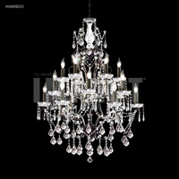 James R. Moder 40680BZ22 Charleston Collection 18 Light 33 inch Bronze Chandelier Ceiling Light