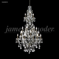 James R. Moder 40682BZ22 Charleston 21 Light 33 inch Bronze Entry Chandelier Ceiling Light