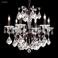 James R. Moder 40696BS22 Cosenza 6 Light 23 inch Burnt Sienna Chandelier Ceiling Light