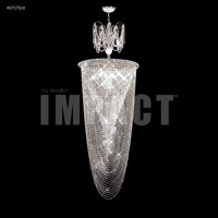James R. Moder 40717S1X Contemporary Collection 9 Light 21 inch Silver Entry Chandelier Ceiling Light